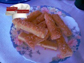 sajtos rúd receptje