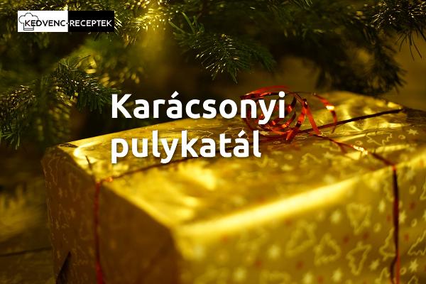 Karácsonyi pulykatál recept