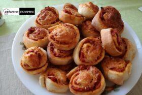 Pizzás csiga: Finom recept akár ünnepekre is