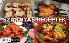 Szárnyas receptek: liba, kacsa, pulyka