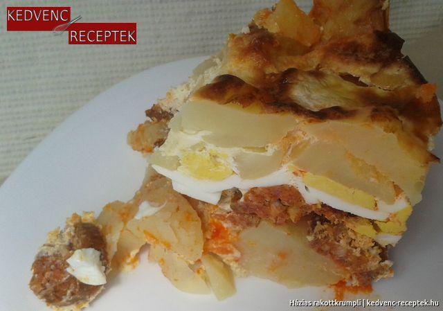 Rakott burgonya, rakott krumpli|kedvenc-receptek.hu (sajtos, tojásos, kolbászos, szalonnás)