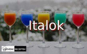 Ital receptek: Ital, italok, koktélok, forralt bor