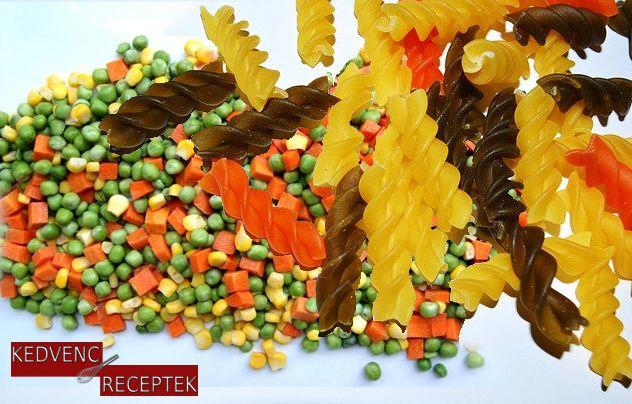 Sajtos zöldséges tészta | kedvenc-receptek.hu