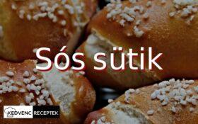 Sós sütemények, sós sütik