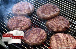 hamburger receptje képpel