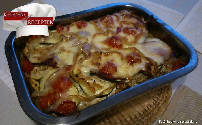 Cukkinis csirke: finom tepsis rakott étel csirkemellből