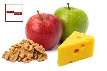 Őszi déáta dióval és almával