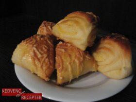 Sajtos háromszög - sós sütemény | kedvenc-receptek.hu