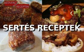 Sertés, sertés receptek, disznó receptek, disznóhús, sertéshús | kedvenc-receptek.hu