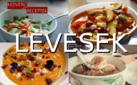 levesek, leves, leves receptek | kedvenc-receptek.hu