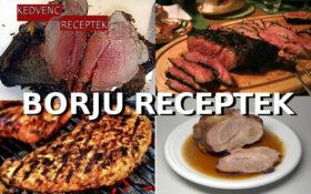 Borjú receptek, borjú ételek, marhahús receptek | Húsételek