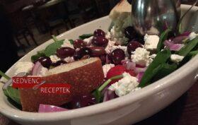 Görög saláta - frissítő tavaszi étel
