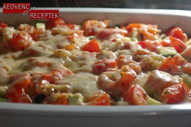 Paradicsomos-húsos lasagne