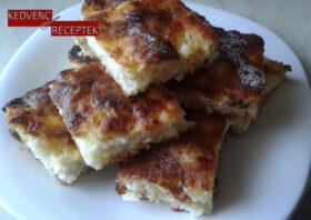 Rázott túrós | Sütemény receptek