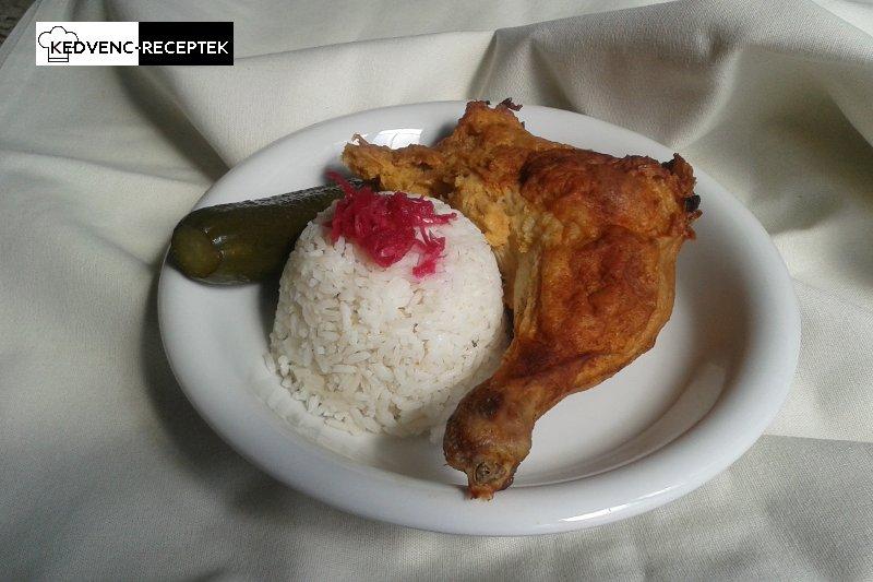 Töltött csirkecomb recept