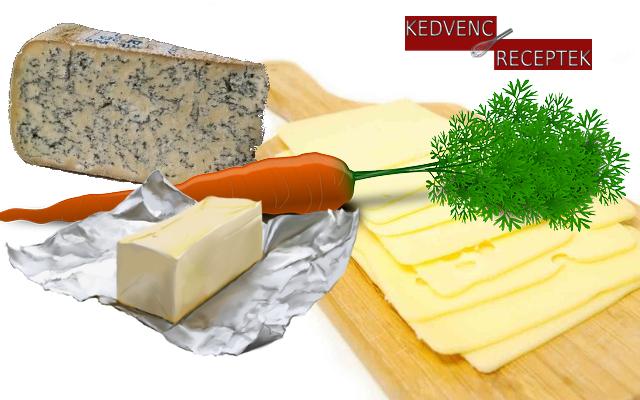 Sajttekercs | Vegetáriánus receptek