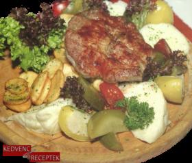 Sertésflekken fatányéron | Sertés receptek