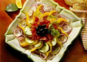 Színes saláta recept | kedvenc-receptek.hu