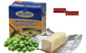 zöldborsó, vaj, tejszín | kedvenc-receptek.hu