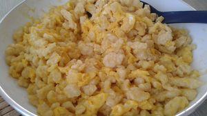 Tojásos nokedli (tojásos galuska) - tészta recept