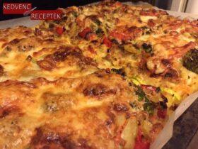 Zöldséges chilis tészta | kedvenc-receptek.hu
