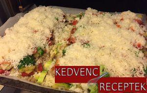 Sütés előtt a zöldséges chilis tészta| kedvenc-receptek.hu