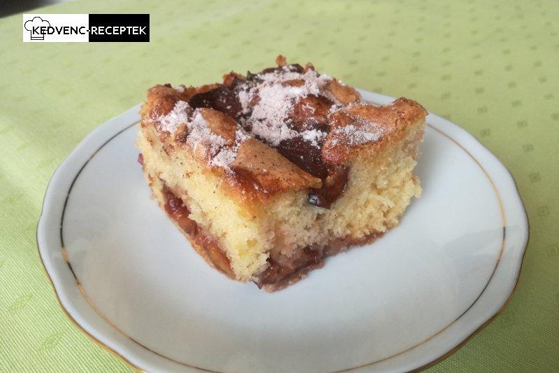 Fahéjas szilvás pite - egy egyszerű szilvás süti