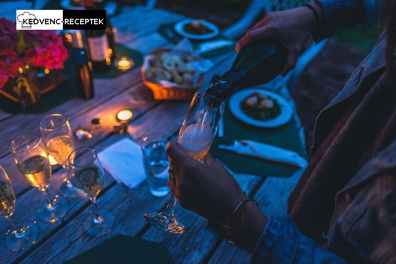 Szilveszteri ételek mellé pezsgő dukál