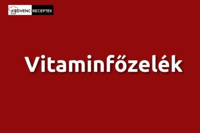 Vitaminfőzelék
