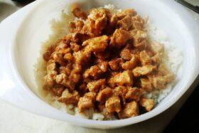 Rakott kelbimbó recept: harmadik réteg a sertéspörkölt