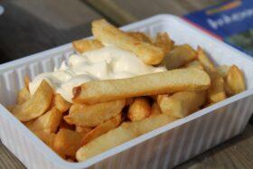 Majonéz készítése házilag: Sült krumpli majonézzel
