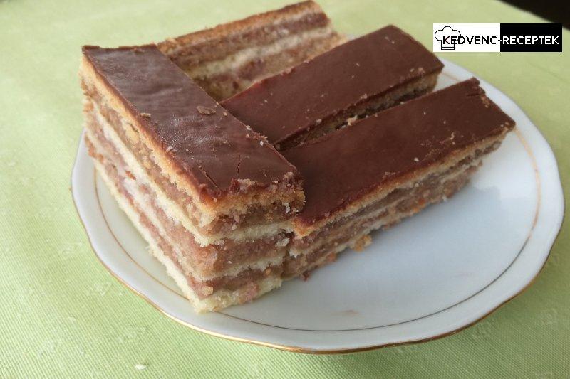 Olvasztott csokis sütemények: Csokis tetejű zserbó