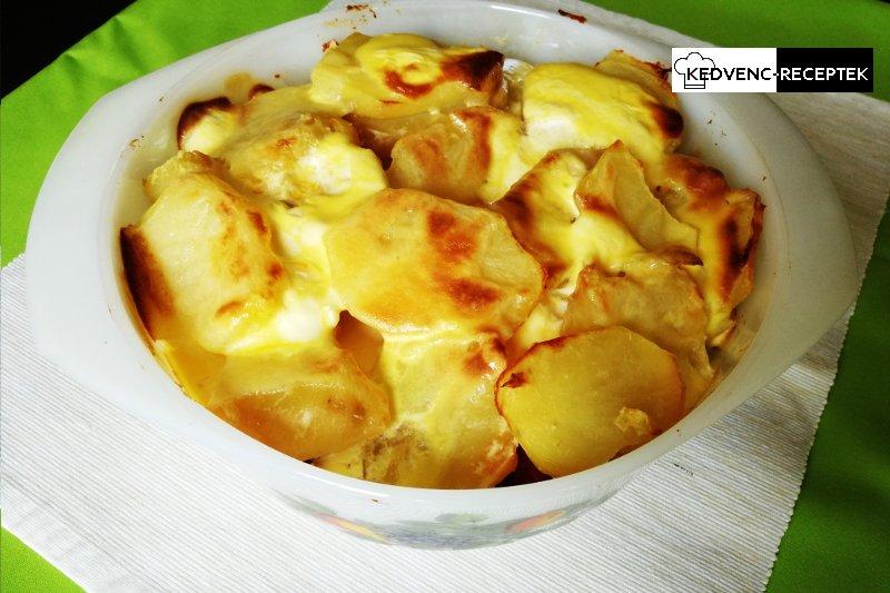 Rakott krumpli kolbásszal