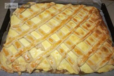 Rácsos, pudingos, almás pite: Szépre sült, ugye?