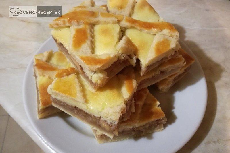 Rácsos, pudingos, almás pite: Szeleteld ízlés szerint