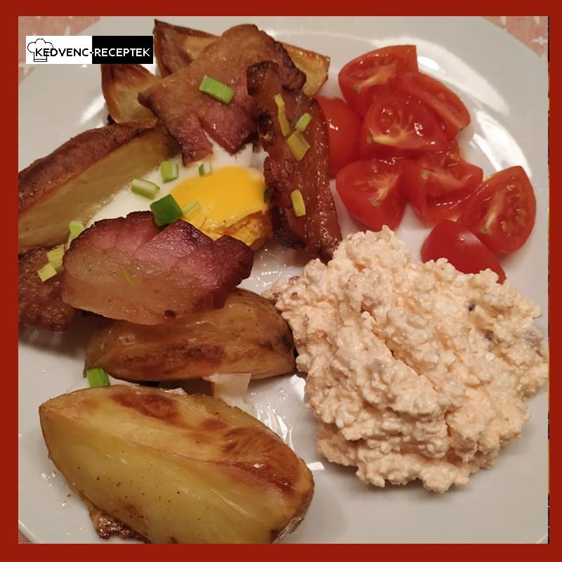 Fűszeres sült krumpli tálalási tipp