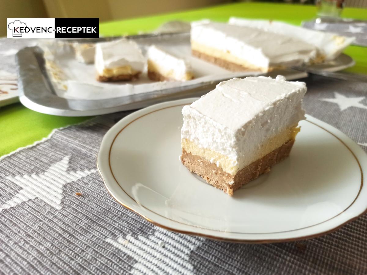 Gesztenyés krémes recept sütés nélkül