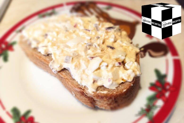 Lágy tojáskrém recept