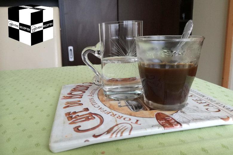 Tudd meg, miért jár a kávéhoz víz!